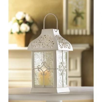 Gazebo Daisy Candle Lantern