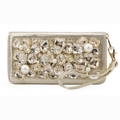 Gemstone Purse, Champagne