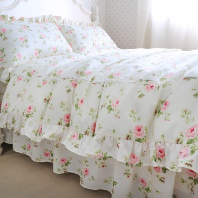 Cottage Rose Duvet Cover Set