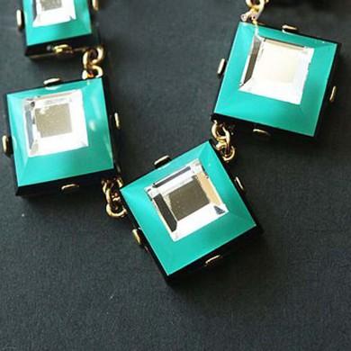 Green Gypsy Gem Necklace