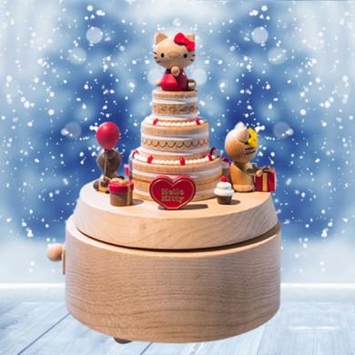 Hello Kitty Birthday Cake Music Box