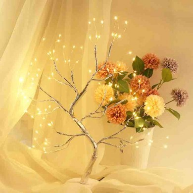 Warm White Novelty Tree Light