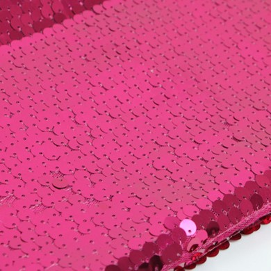High Density Fuschia Sequin Fabric