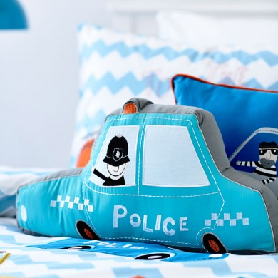 Police Car Pillow