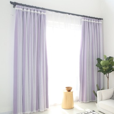 Simply Elegant Purple Blackout Panel