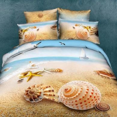 Seashell Duvet Cover Set