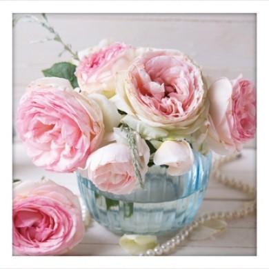 Vintage Shabby Vintage Roses Print Set B