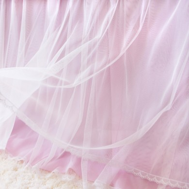 Princess Pink Bed Skirt