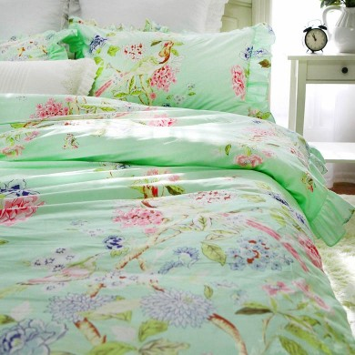 Birds Botanic Garden Duvet Cover Set