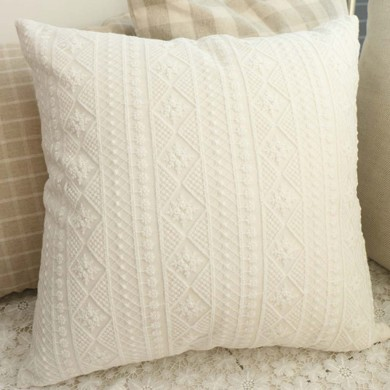 Cecilia Embroidery Lace Parisian Cushion Cover
