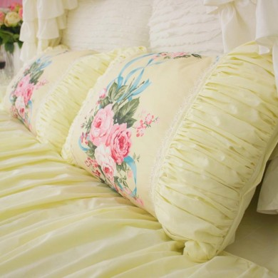 Ruched Pillow Sham