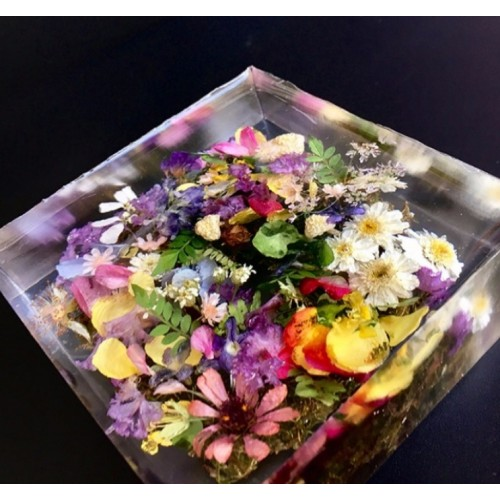 Flowers resin paperweight more views mightylinksfo