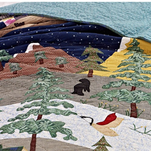 people in forest the quilt light s quilts pinterest pin other