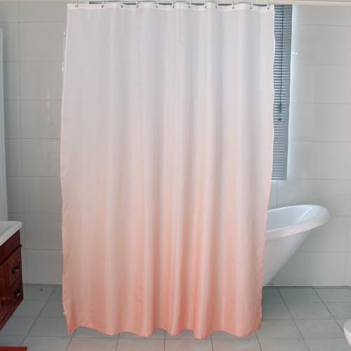 Gradient For Bathroom Floor : Gradient shower curtain