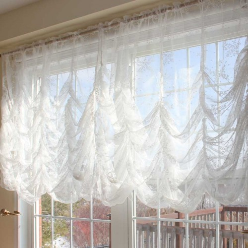tar lace elegant me attached gmode valance t curtains white curtain with