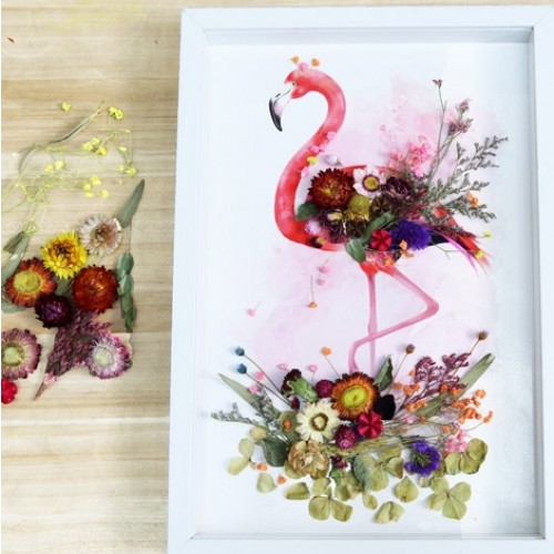 Dried Flowers Painting