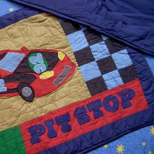 Race Car Bedding