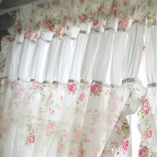 Shabby Chic Curtain