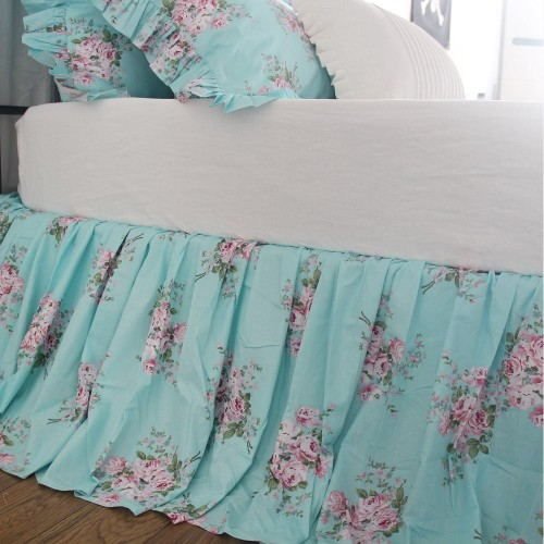 Rose Bedskirt