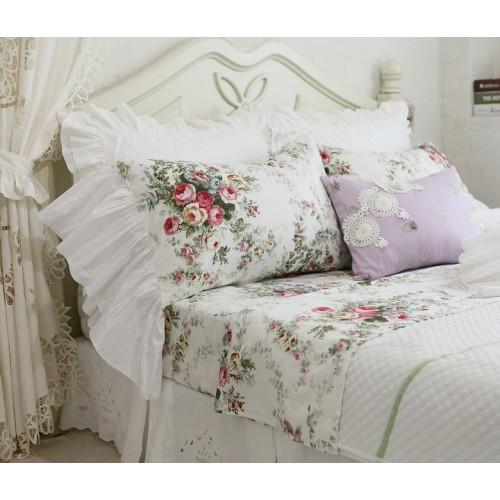 Long Ruffle Pillowcase
