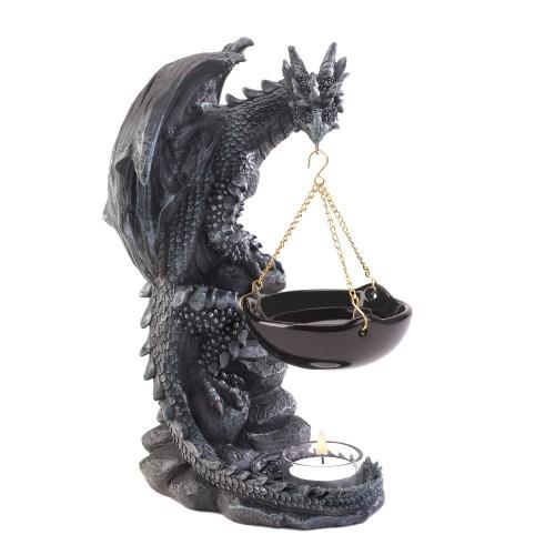Shadowy dragon oil warmer - Dragon oil warmer ...