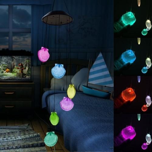 Discount Oil Change >> Solar Glow Sea Shell Lawn Night Light