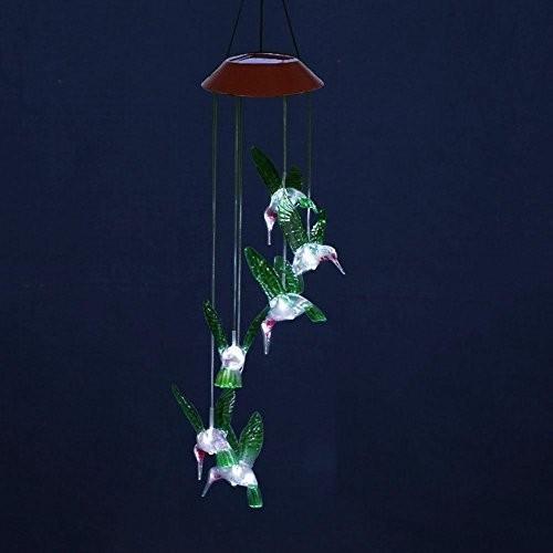 Solar Led Night Light Hummingbird