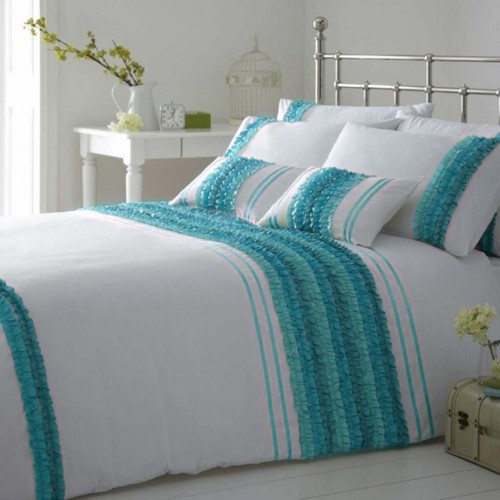 Pink And Teal Twin Bedding