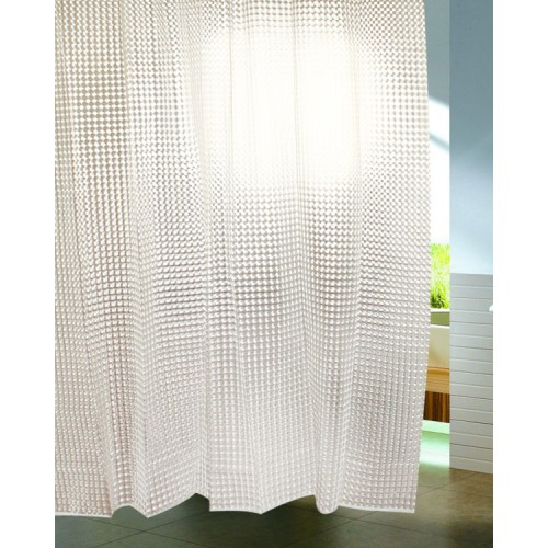 3d Water Cube Shower Curtain