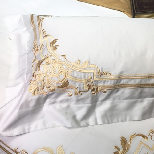 Champagne Bedding
