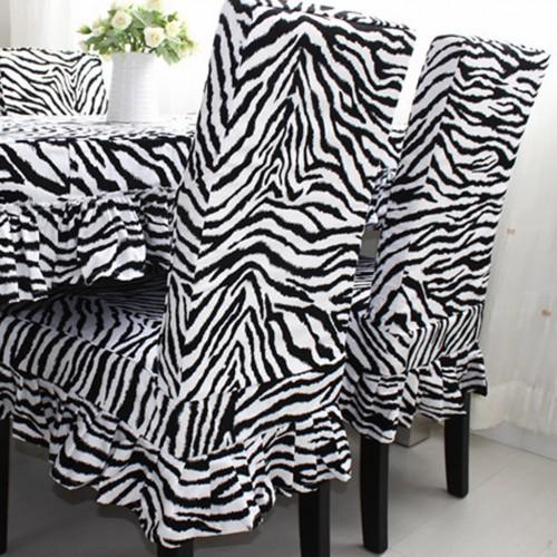 Zebra Chair Cover