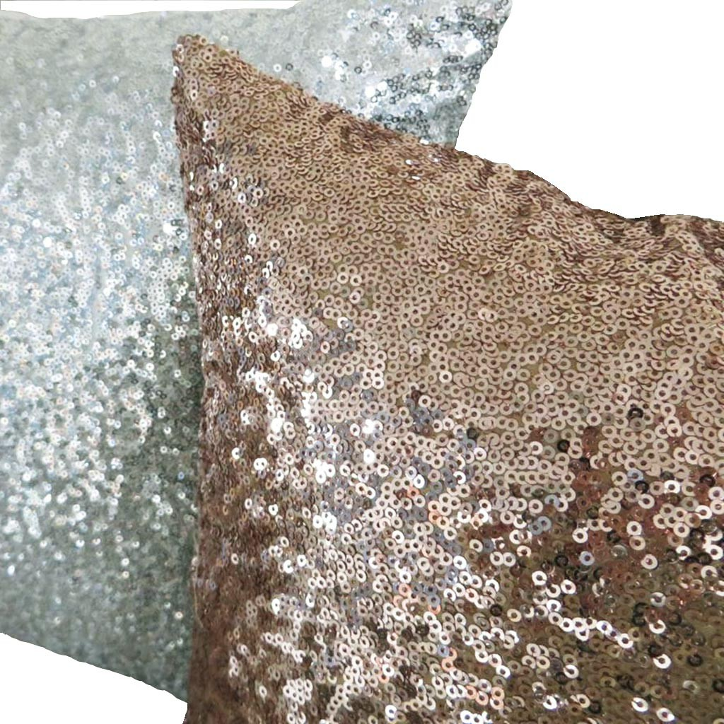 Sequins pillow for Champagne seguin