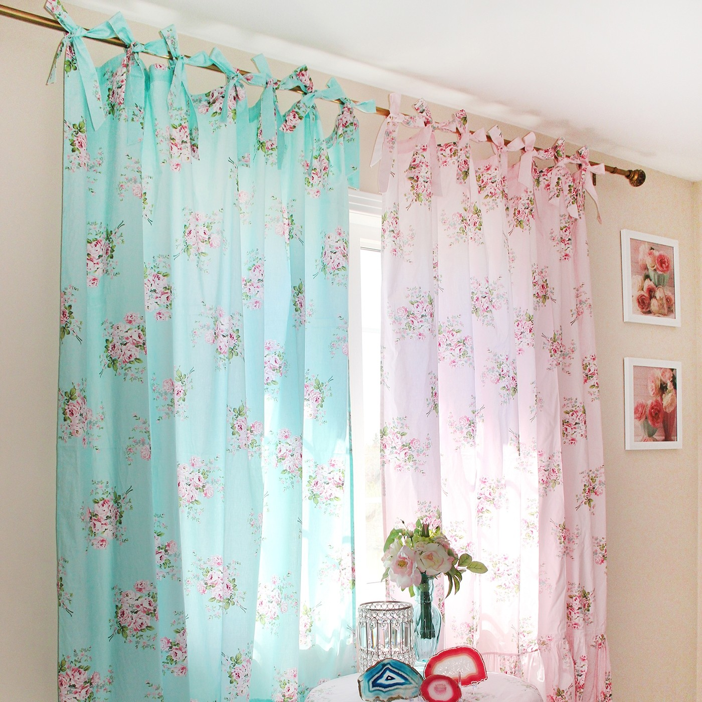 Beautiful Shabby Chic Curtain
