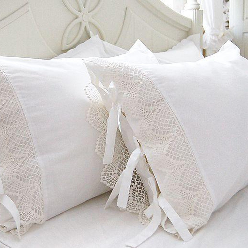 Crochet Pillow Accent