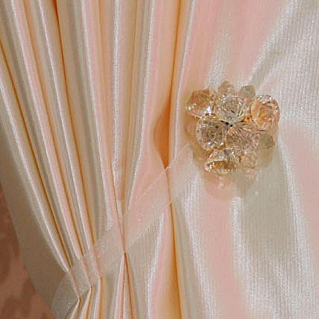 Sparkling Magnetic Curtain Holdbacks