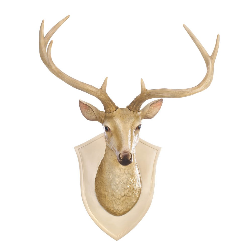 Deer bust wall decor for Deer wall mural