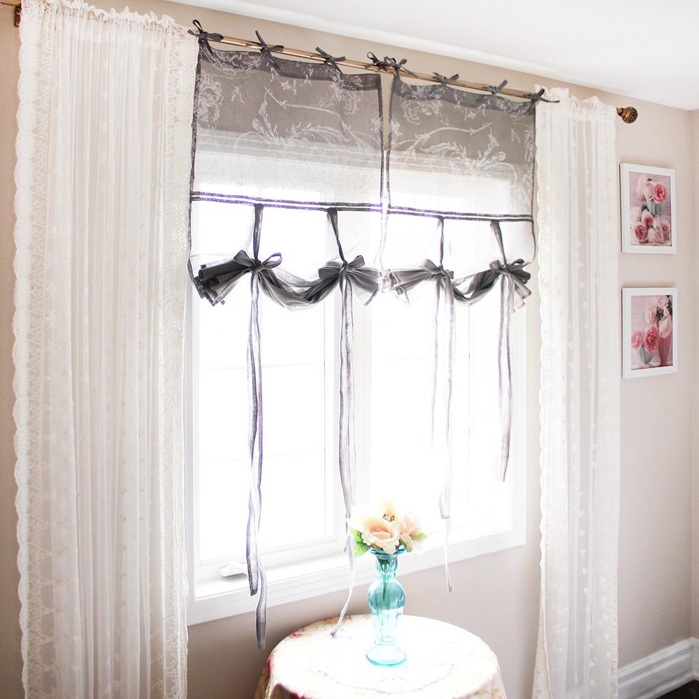 Balloon Tie Up Curtain