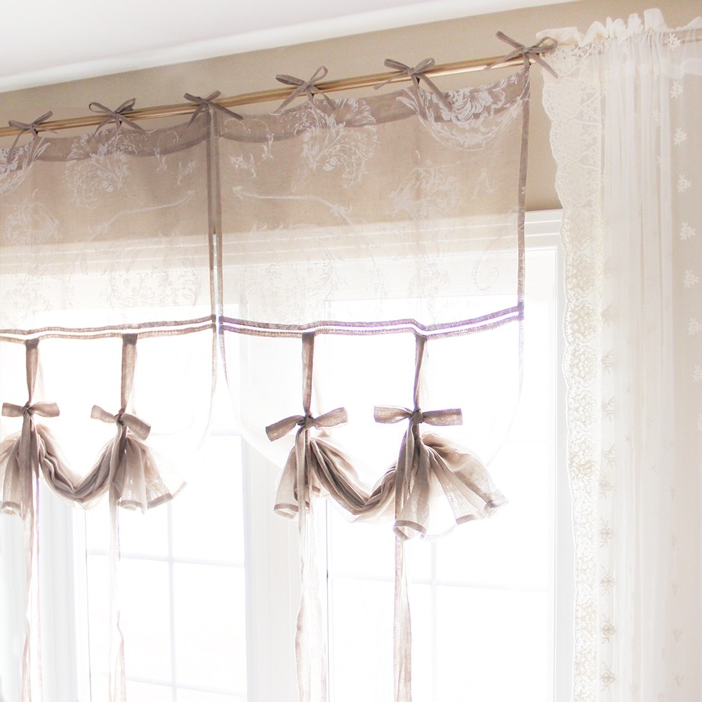 Balloon Tie Up Curtain