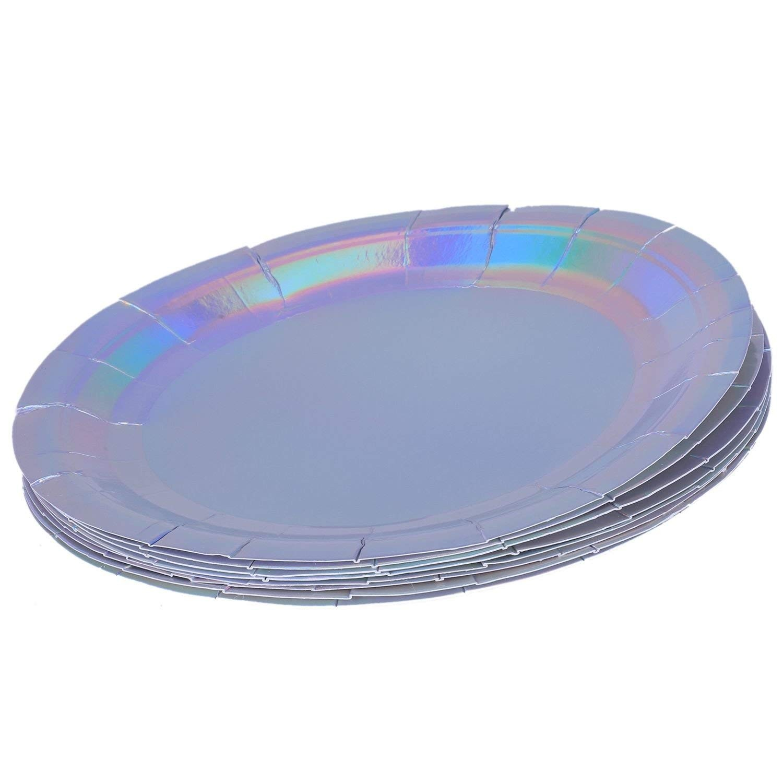 White Kitchen Plate Set