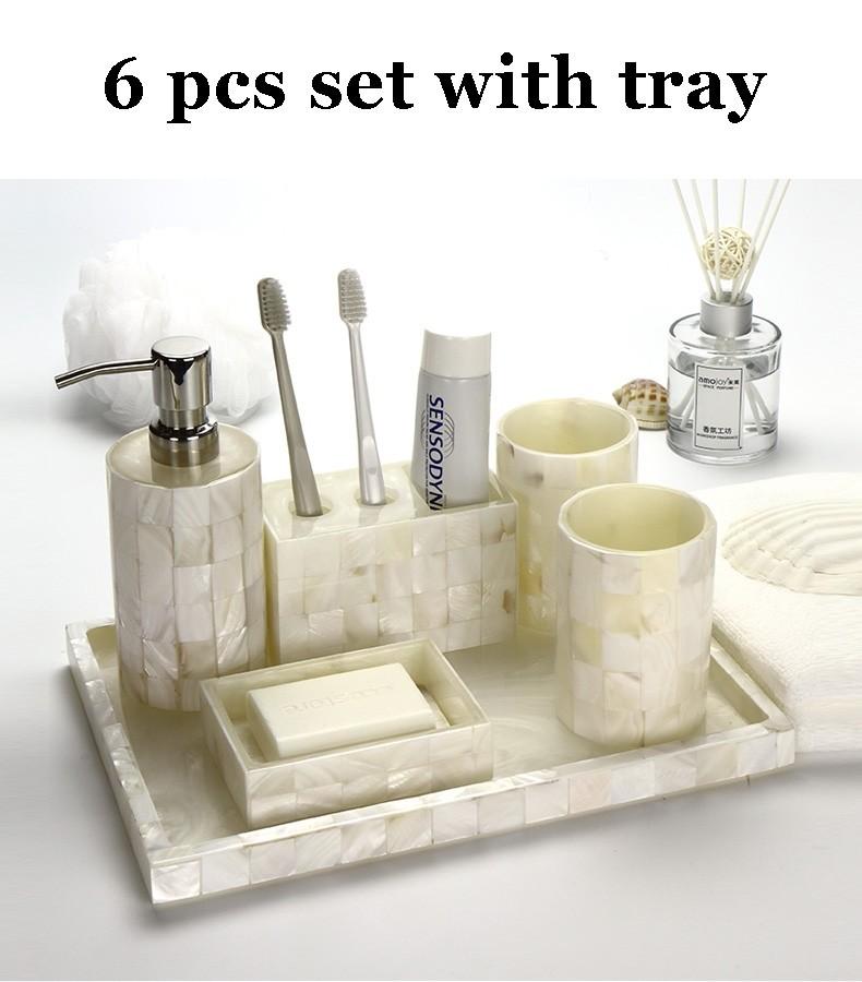 Seashell Bathroom Set
