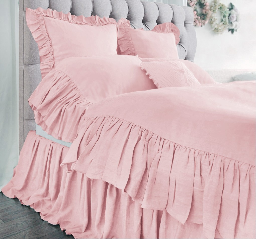 Mermaid Ruffle Bedding