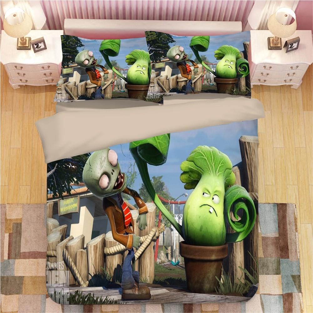 Plants vs. Zombies Duvet Cover Set