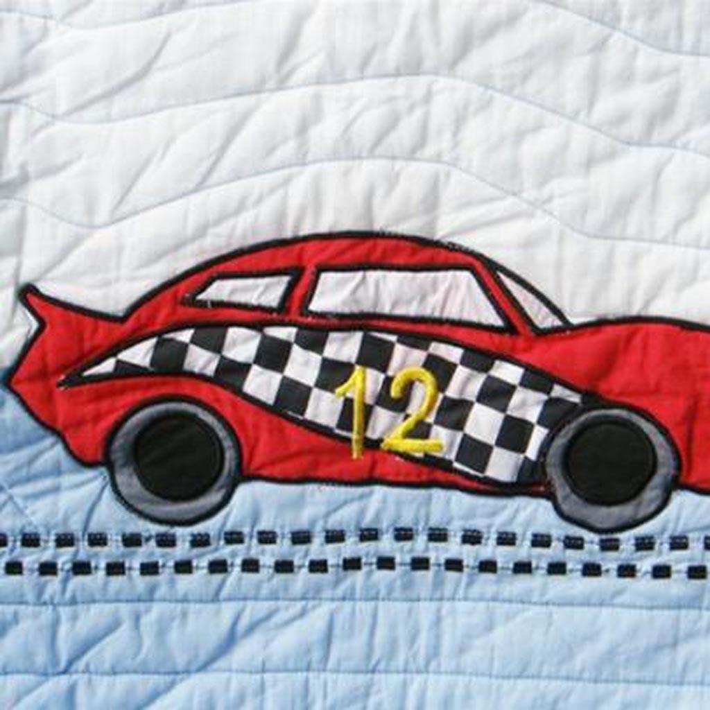 Race Car Quilt Fabric
