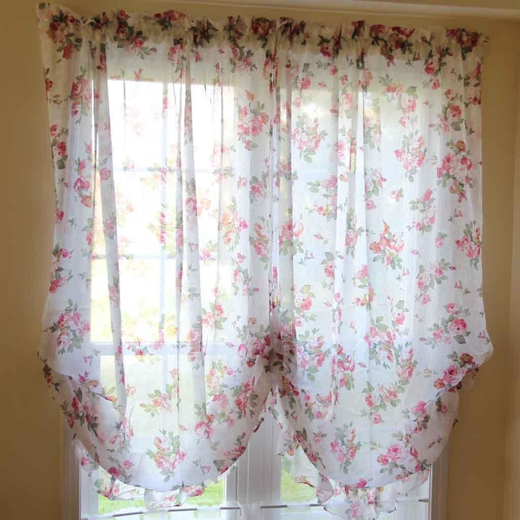 Rose Balloon Curtain