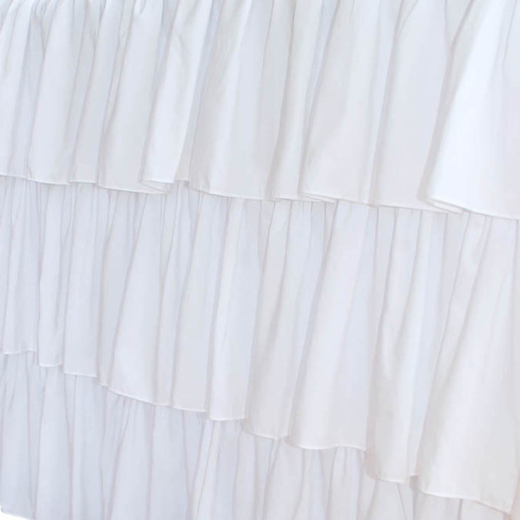 ruffle tablecloth Ruffled Tablecloth