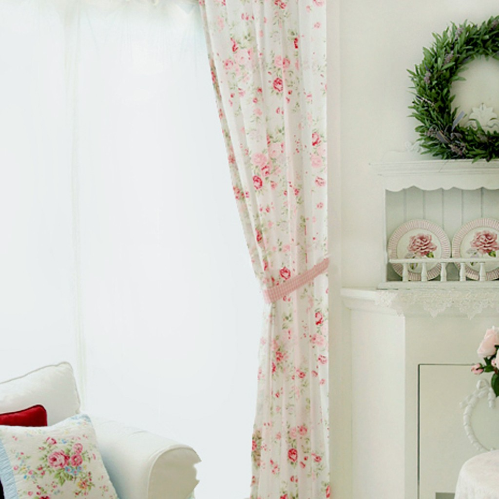 Shabby Chic Curtains: SHABBY CHIC CURTAIN