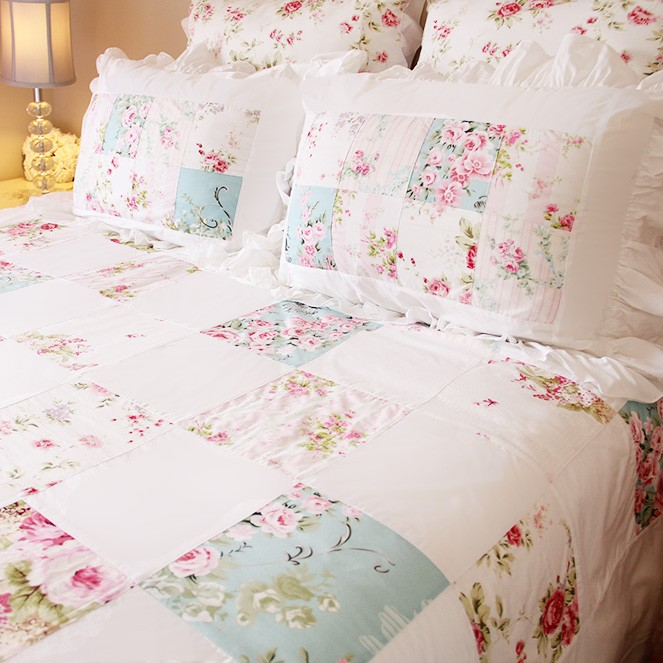 shabby chic bedding. Black Bedroom Furniture Sets. Home Design Ideas