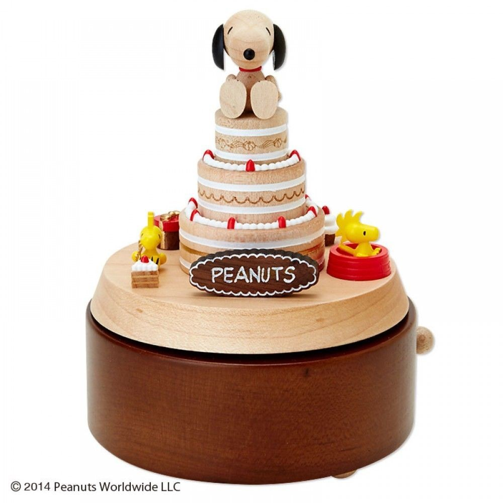 snoopy music box