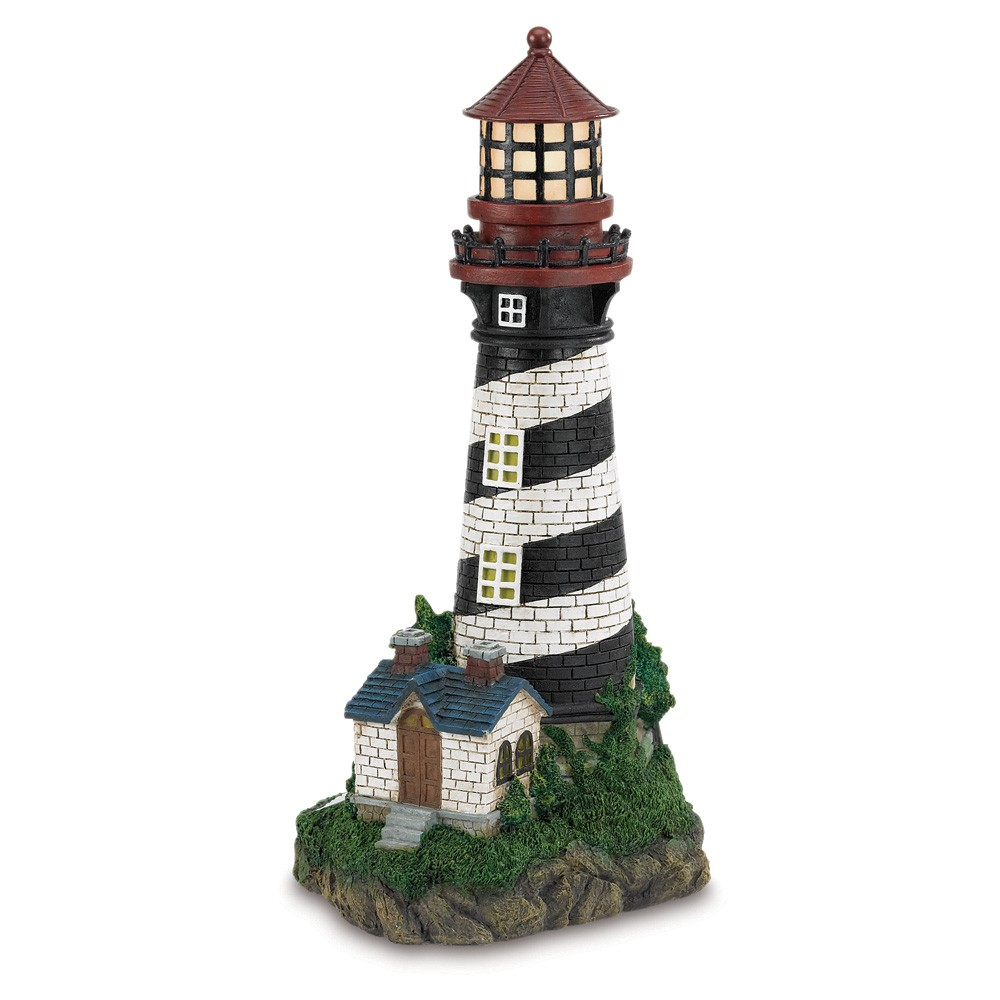 Solar Lighthouse Garden Lamp