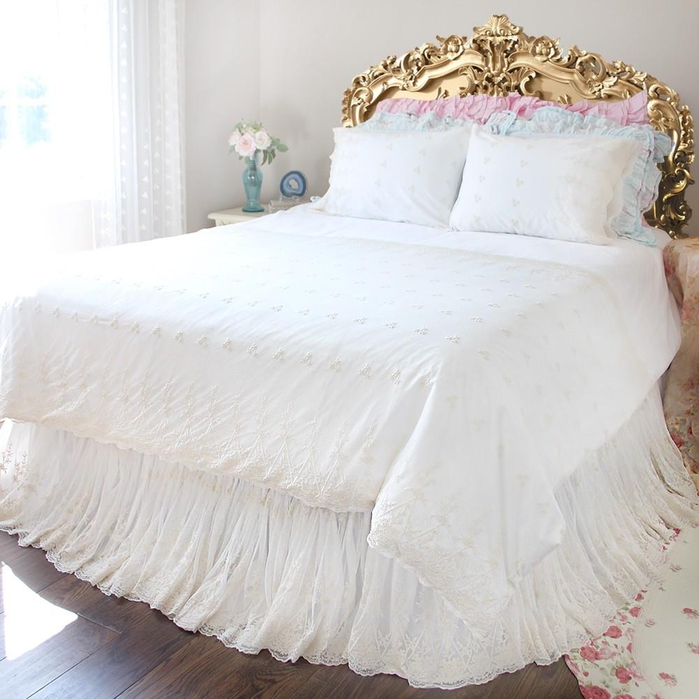 Shabby chic bedding - 33 Off
